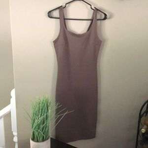 Mocha Forever 21 stretchy dress, small
